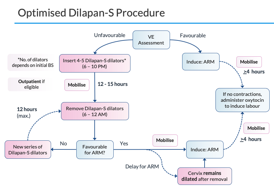 Dilapan-S optimised procedure